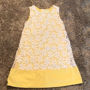 Gymboree Yellow daisy dress